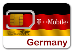 Intouch Smartcards Country Specific T Mobile Sim For Germany
