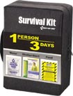 Food/Water/Warmth/Alert Survival Kit by First Aid Only Inc.